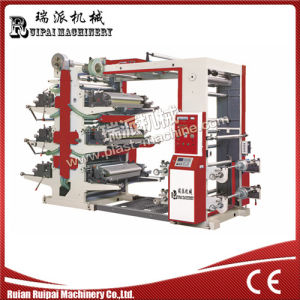 High Speed Flexographic Printing Machine for 6 Color pictures & photos