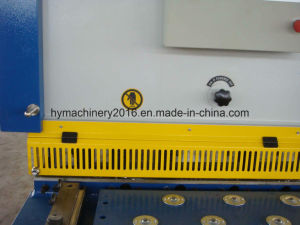 QC12Y-8X4000 Hydraulic Swing Beam Shearing Machinery pictures & photos