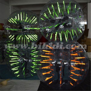 1.0m Diameter Glowing Bubble Football for Sport Game D5004 pictures & photos