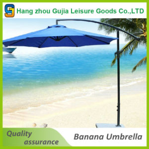 Windproof Sun Protection Cantilever UV Patio Beach Umbrella