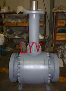 China Actuated Forged Api Iso Big Size Fully Welded Ball