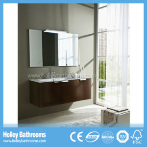Hot Selling Modern Wall Mounted Bathroom Vanity with 3 Doors (BF374D)
