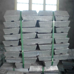 High Quality Pure Zinc Ingot 99.99% 99.995% pictures & photos