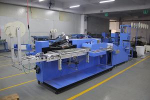 Apparel Labels Automatic Screen Printing Machine Price pictures & photos