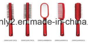Rubber Spray Professional Hairbrush pictures & photos