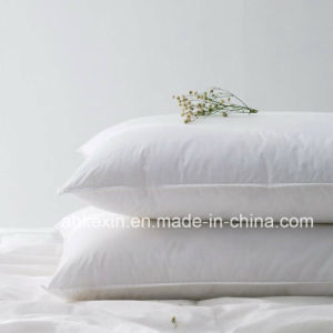 Soft 2-4cm Grey Duck Feather Neck Pillow pictures & photos