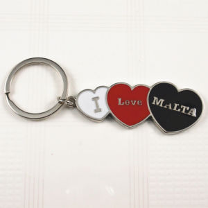 Malta Logo Souvenirs -Metal Enamel Keychain Keyrings Llavero Melalico pictures & photos