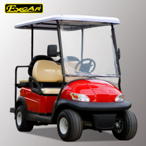 Solar Power 4 Seater Electric Golf Buggy China Made pictures & photos