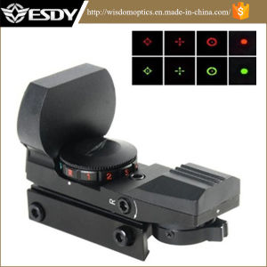 Tactical Multi-Reticle 4 Reticle Reflex Red Green DOT Sight Rifle Scope 1X22X33 pictures & photos