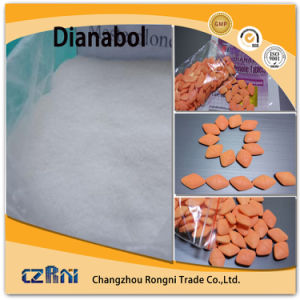 Top Quality Orally Anabolic Hormones Steroids Powder Dianabol Dbol CAS 72-63-9 pictures & photos