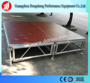 Concert Mobile Indoor Event Easy Assembly Wedding Aluminum Removable Stage pictures & photos
