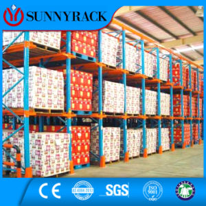 High Storage Density Drive-in Steel Pallet Rack