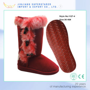 Adorable Women MID-Calf  Winter Boots Fully Lined with Faux Fur Inside pictures & photos