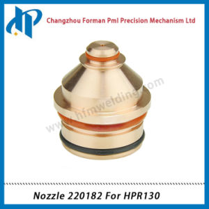 Nozzle 220182 for Hpr130 Plasma Cutting Torch Consumables 130A pictures & photos