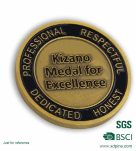 Custom Two Sides Soft Enamel Coin for a Corporation (B7) pictures & photos