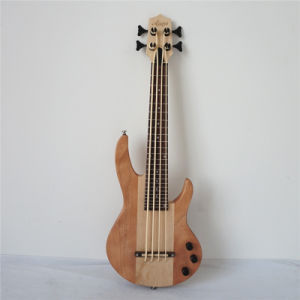 Wholesale All Solid Mahogany Wood Body Bass Ukulele with Nylon Strings pictures & photos