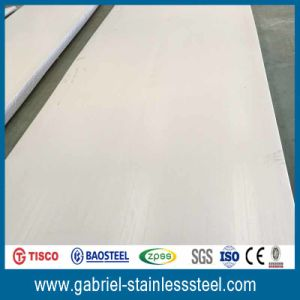 Baosteel Ss304 No. 1 Finish Stainless Steel Sheet Metal pictures & photos