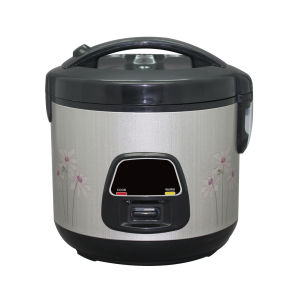 Deluxe Silver Color Rice Cooker with Plastic Food Steamer pictures & photos
