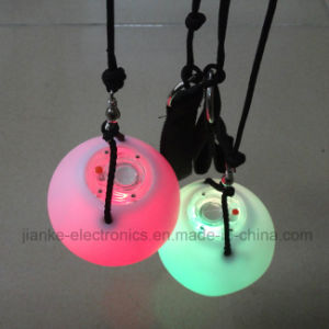 Custom High Quality LED Spin Balls with Logo Printing (3560) pictures & photos