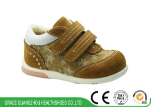 Latest Prevention Baby Shoes Stars-Designed Infant Shoes pictures & photos