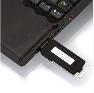 Cheap Digital USB Voice Recorder 8GB Mini Dictaphone Wav Audio Recorder U-Disk Recording Pen Sk-868 pictures & photos