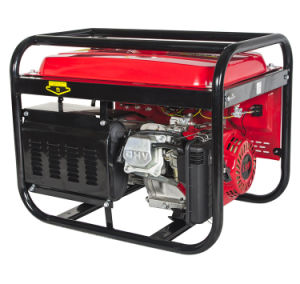 Power Value Electric Key Start Cam Professional Gasoline Generator pictures & photos