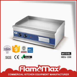 Heg-350 Steel Electric Griddle with CE RoHS Certificate Factory Supplier pictures & photos