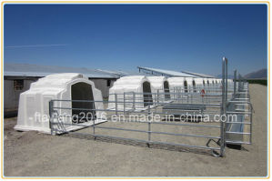Galvanized Oval Rail Cattle Fencing Panel pictures & photos