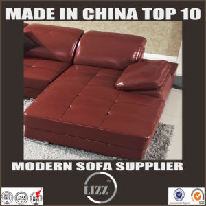 Modern Style U Shape Corner Sofa with Real Leather (LZ-129) pictures & photos