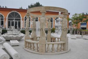 Sandstone Gazebo Marble Gazebo Statuary Gazebo Mg-022 pictures & photos