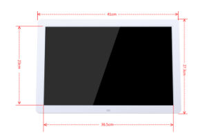 Video Playback LCD Digital Picture Frame 17 Inch Touch Screeh Android WiFi pictures & photos