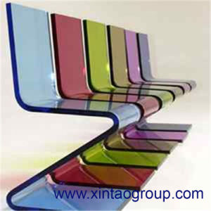 Plastic Acrylic Panel Cast Solid Rod SGS Mia pictures & photos