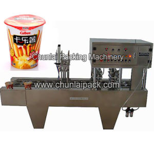 French Fry Paper Cup Sealing Machine pictures & photos