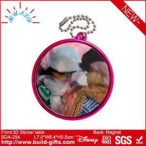 Plastic Mirror with Epoxy on Sticker Label pictures & photos