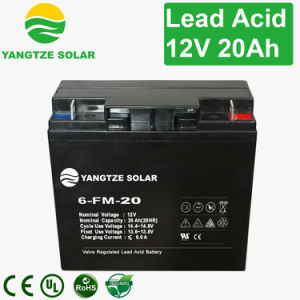 Sealed Lead Acid Leoch Storage Battery 12V 20ah pictures & photos
