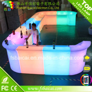 RGB Color LED Nightclub Bar Counter