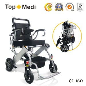 Topmedi Best-Selling Folding Light Weight Electric Power Wheelchair China pictures & photos
