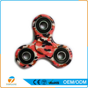 Regular Relieve Stress ABS+Stainless Steel Camouflage Hand Spinner Toys pictures & photos