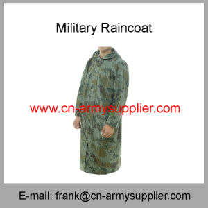 Reflective Raincoat-Security Raincoat-Traffic Raincoat-Army Raincoat-Duty Raincoat-Military Raincoat pictures & photos