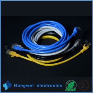 High Quality UTP Cat. 5e Cord Cable pictures & photos
