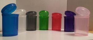 Plastic Pill Bottles Multi Color Pop Top Bottle Vial Container pictures & photos