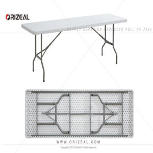 Accord Plastic Rectangular Trestle Table - 2440 X 760 pictures & photos