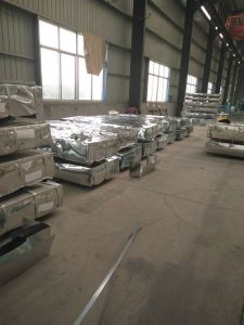 Commercial Quality Aluminum Zinc Coating Cold Rolled Steel Roofing Sheet pictures & photos