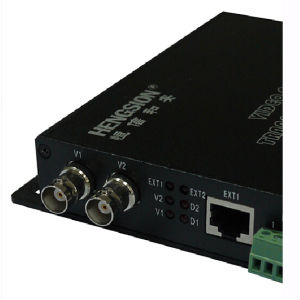 Analogue 2-Channel Video Fiber Optic Transceiver pictures & photos