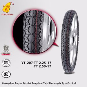 Street Pattern Motorcycle Tyre with Deep Pattern 3-18 pictures & photos