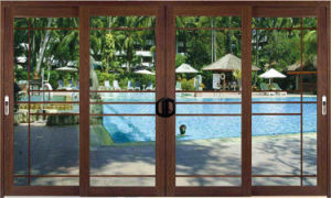 Aluminum Glass Sliding Windows and Doors with Factory Price pictures & photos
