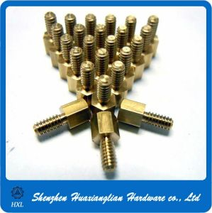 M2/M3/M4/M5/M6/M8 Male Female Brass Motherboard Standoff Screws pictures & photos