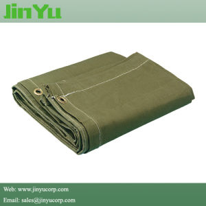 Waterproof Organic Silicon Coating Canvas Tarpaulin pictures & photos