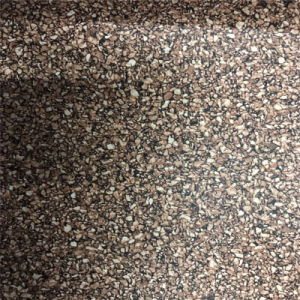 Cork Leather Material Wood-Grain PU Leather for Shoe, Furniture, Bag (HS-M309) pictures & photos