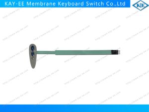 Dome Embossed Keys Membrane Switch with Long Tail and 3m467 Back Adhesive pictures & photos